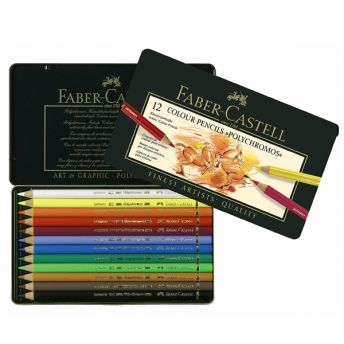 Faber-Castell Coloured Artists Pencils (12)