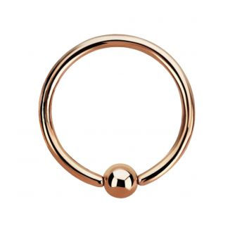 Rose Gold BCR 1.2 X 10mm (5)