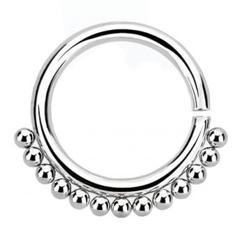 ANNEALED Septum Ring Surgical Steel (5) 1.2x8mm