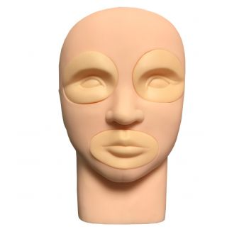 Silicone Mannequin with Removable Lips & Eyes