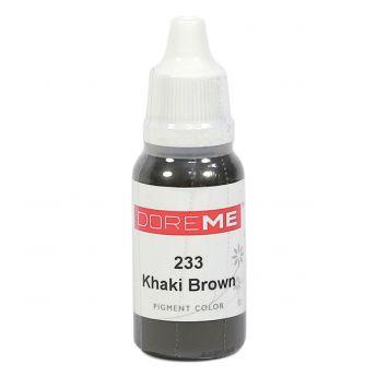 Doreme Eyebrow Pigment Khaki Brown 15ml