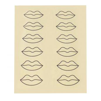 Printed Practice Skin 12 Lips