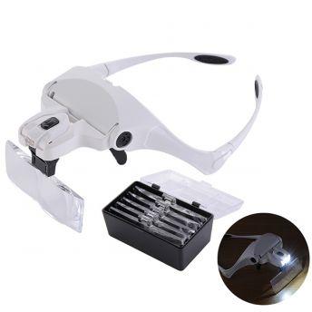 Magnifier LED Eye Glasses
