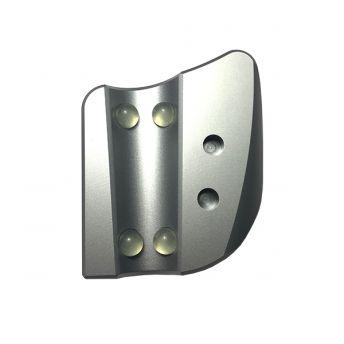 Aluminium Hand Piece and Ink Cap Holder 105mm x 90mm x 23mm