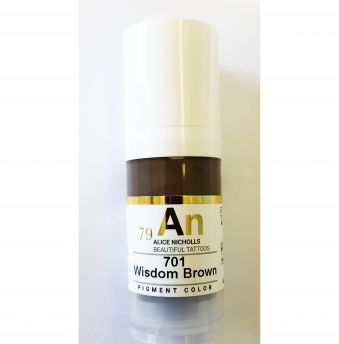 AN 79 Microblading Pigment Wisdom Brown 10ml