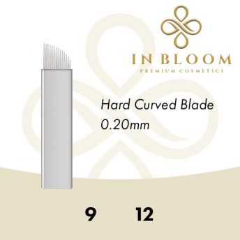 In Bloom 0.20mm Silver Curved Needle 9FSG