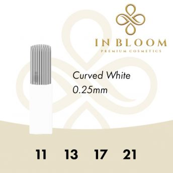 In Bloom 0.25mm White Needle 17CM