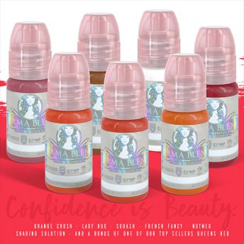 Perma Blend 7 x .5oz Sweet Lips Set