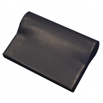 P-Shaped Kneck Bolster Black