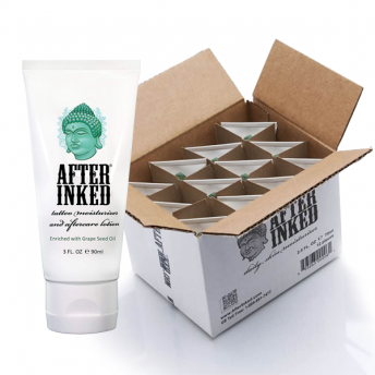 After Inked Aftercare Lotion 90ml Tube - Box of 12