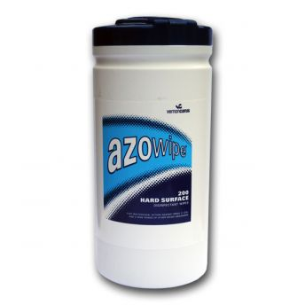 Azo Bactericidal Hard Surface Wipes (200)