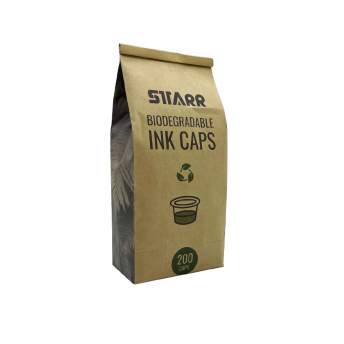 Biodegradable 18mm Ink Caps Large 200