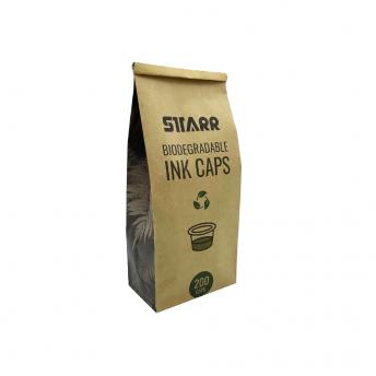 Biodegradable 15mm Ink Caps Medium 200