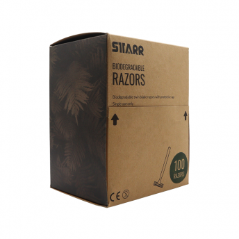 Starr Biodegradable Double Blade Razors 100
