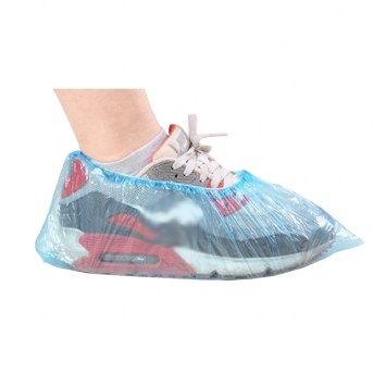 Shoe Protector Plastic Blue 100