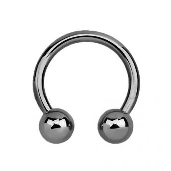 Titanium Circular Barbells 1.2mm - Plain