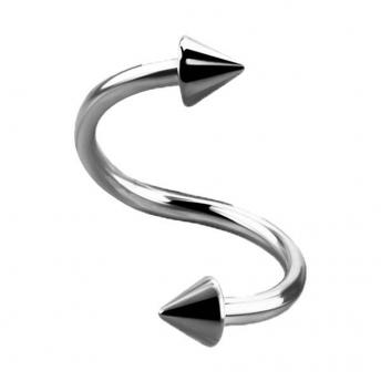 Titanium Coned Spiral Bars