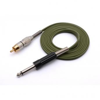 Eikon Green 8 foot RCA Cord