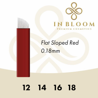 In Bloom Flat Sloped 0.18mm Microblade (50)
