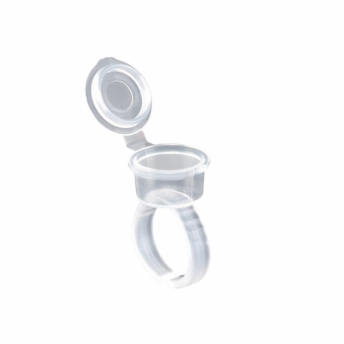 Finger Ring Clear with Lid 100
