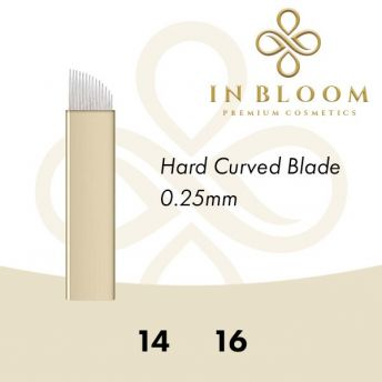 In Bloom Hard Curved 0.25mm Microblade (50)