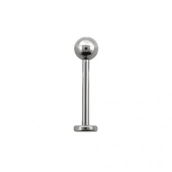 Titanium Labret Stud 1.2mm - Plain