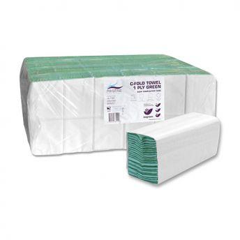 Hand Towels GREEN Bulk Pack 23cmx33cm(4000)