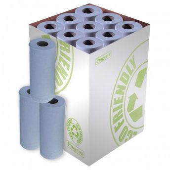 MINI Couch Roll BLUE Bulk 18 Pack 24cm(10inch)