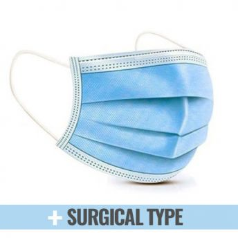 Face Mask Surgical Type IIR 3 Ply 50