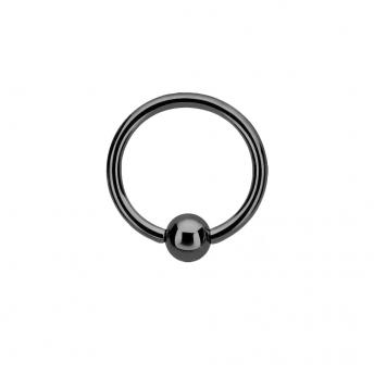 Titanium BCR 1.6mm - Black