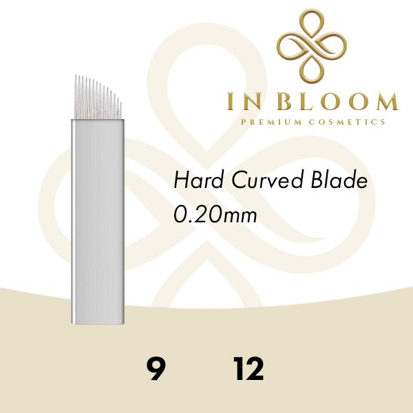 In Bloom 0.20mm Gold Curved Needle 9FSG
