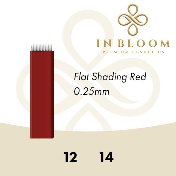 In Bloom 0.25mm Red Needle 12F