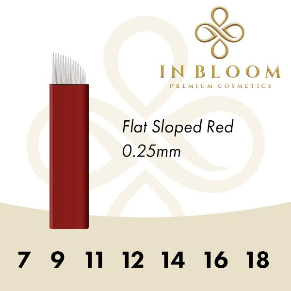 In Bloom 0.25mm Red Needle 12FS