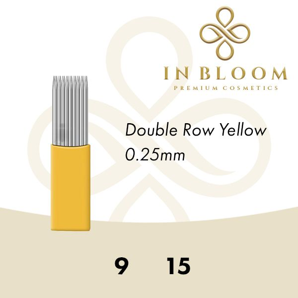In Bloom 0.25mm Yellow Needle 15M